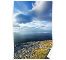 View from the Northernmost Point of Europe! Poster