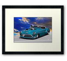 1948 Oldsmobile 'Pro Street' Convertible I Framed Print