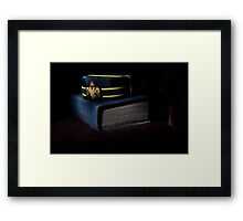 Integrity and Understanding Framed Print