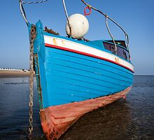 Blue Boat by Mark Cass