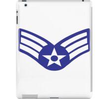 United States Air Force - Senior Airman iPad Case/Skin