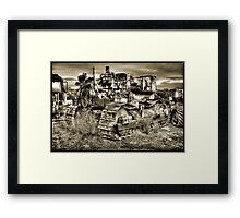 Fall of the Mighty Framed Print