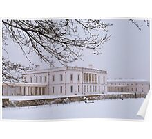 The Queen's House - Rear Poster
