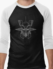 Mazinger Z - White Sketch Men's Baseball ¾ T-Shirt