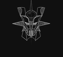 Mazinger Z - White Sketch Unisex T-Shirt