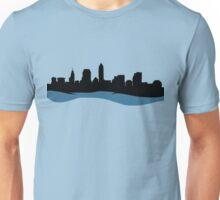 Cleveland Ohio Skyline Unisex T-Shirt