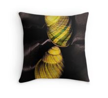 Helicostyla Throw Pillow