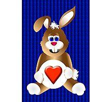 Honey Bunny Love Photographic Print