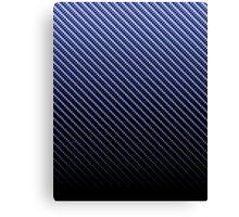 Blue Carbon Fade iPhone / Samsung Galaxy Case Canvas Print