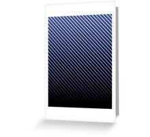 Blue Carbon Fade iPhone / Samsung Galaxy Case Greeting Card