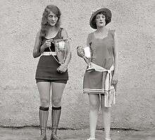 Bathing Beauty Contest, 1922 by historyphoto