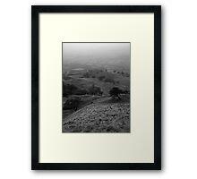 Land of the Mystics Framed Print