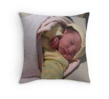 precious little angel Throw Pillow