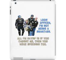 Police t-shirt iPad Case/Skin