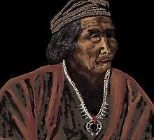 Navajo Medicine Man by Carole Boyd