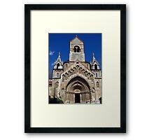 Jak Church, Budapest Framed Print
