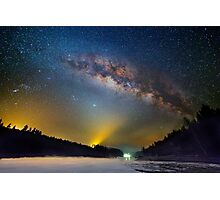 Lighting up the milky way Photographic Print