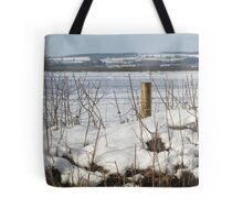 North Dorset snow scene Tote Bag