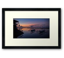 Candidasa Sunrise - by Paul Campbell Photography Framed Print