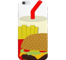 Fabulous fast food iPhone Case/Skin