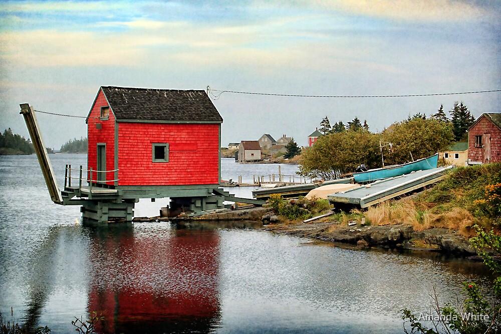 Blue Rocks, Nova Scotia by Amanda White