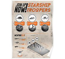 Starship Troopers : Print Art Poster