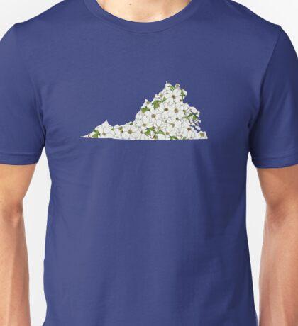 Virginia Flowers Unisex T-Shirt