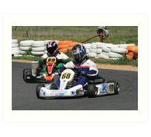 Wodonga Kart Track Art Print