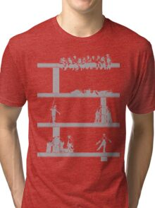 IronWorkers Grey Tri-blend T-Shirt