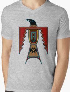 Crow Mens V-Neck T-Shirt
