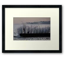 Making a Splash! - By Paul Campbell Photography Framed Print