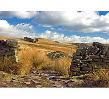 Great Hill, Anglezarke Moor Photographic Print