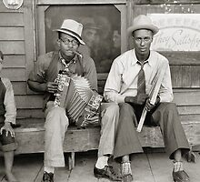 Street Musicians, 1938 by historyphoto