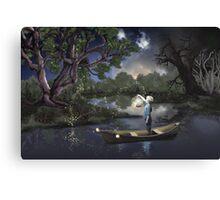 Firefly Magic Canvas Print