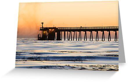 Venoco Ellwood Pier by Eyal Nahmias