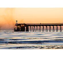 Venoco Ellwood Pier Photographic Print