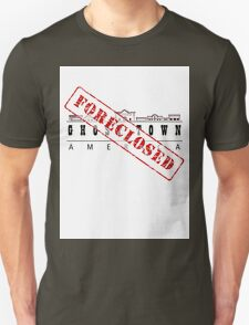 Foreclosed, Ghost Town America T-Shirt