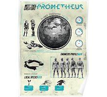 Prometheus : Print Art Poster