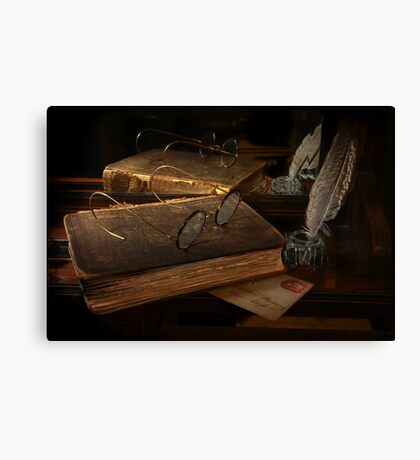 Old Correspondence Canvas Print