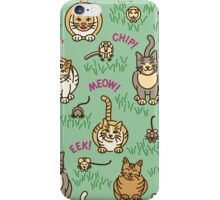 Cats and Critters iPhone Case/Skin