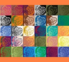 Heart to Heart Rendition, 5x6=30 (3D products) by Kerryn Madsen-Pietsch