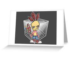 Aku Aku Jumbo Greeting Card