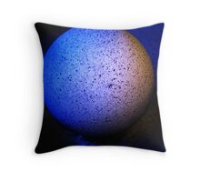 Granite Sphere Throw Pillow