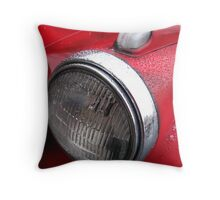 Detail from Antique Chevy Pickup  Throw Pillow