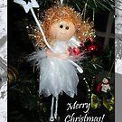 Merry Christmas angel by Emazevedo