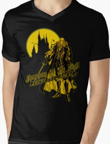 Alucard Mens V-Neck T-Shirt