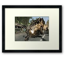 Crysis Action Framed Print