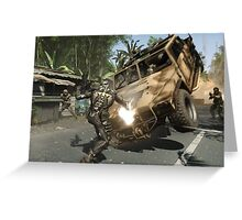 Crysis Action Greeting Card