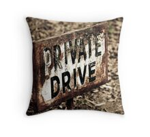 None Shall Pass Throw Pillow