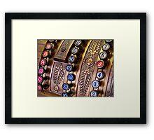 34 cents Framed Print